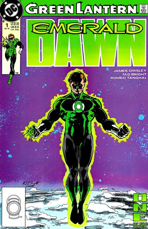 Green Lantern – Emerald Dawn I + II (#1- 6)