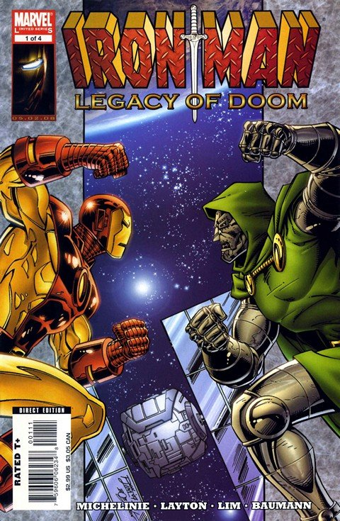 Iron Man – Legacy of Doom #1 – 4