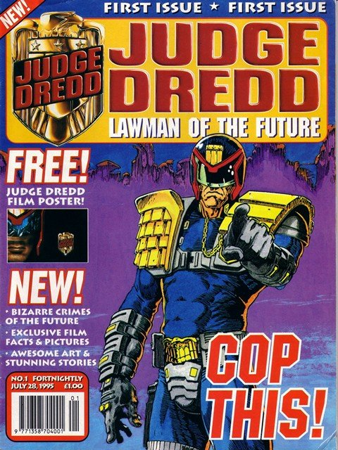 Judge Dredd – Lawman of the Future #1 – 23