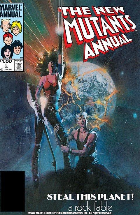 New Mutants – Annuals #1 – 7