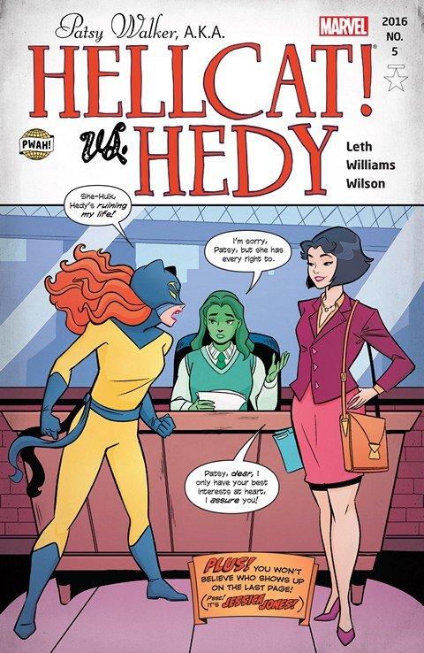 Patsy Walker – A.K.A. Hellcat! #5