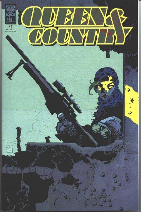 Queen & Country (#0 – 32 + Declassified Vol. 1 – 3 & Extras)