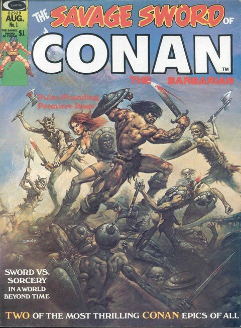 Savage Sword Of Conan #1 – 235 + Annual