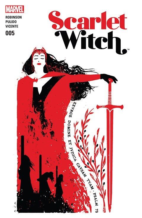 Scarlet Witch #5