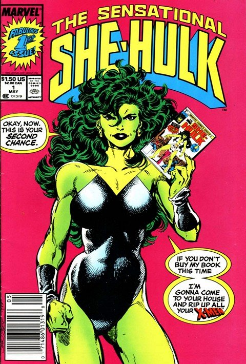 Sensational She-Hulk #1 – 60 (1998-1994)