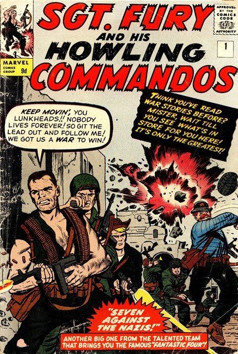 Sgt. Fury & His Howling Commandos #1 – 167 (1963-1981)