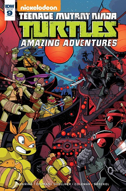 Teenage Mutant Ninja Turtles – Amazing Adventures #9