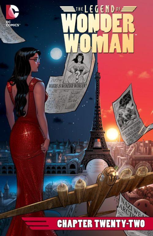 The Legend of Wonder Woman #22