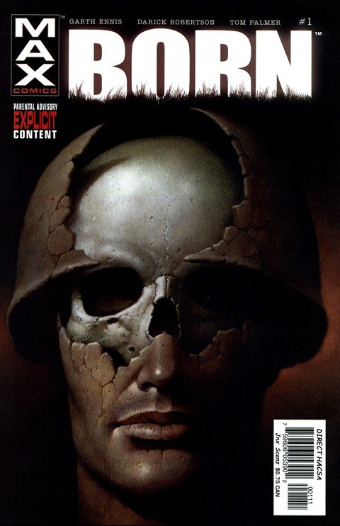 The Punisher MAX – Born #1 – 4
