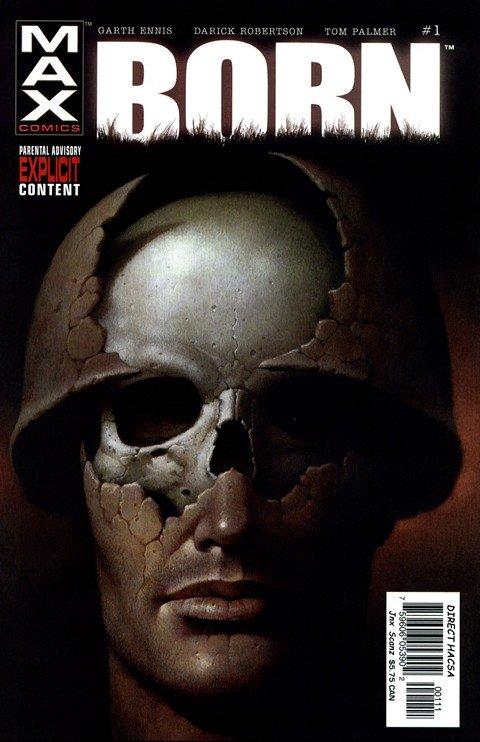 The Punisher MAX – Born #1 – 4
