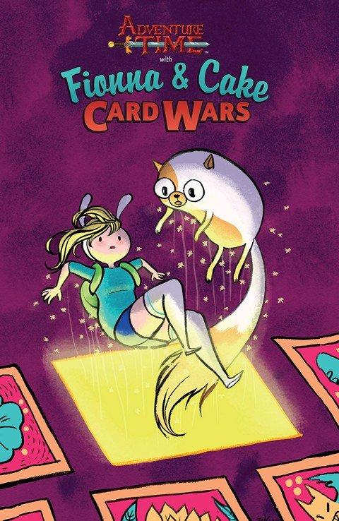 Adventure Time – Fionna & Cake Card Wars