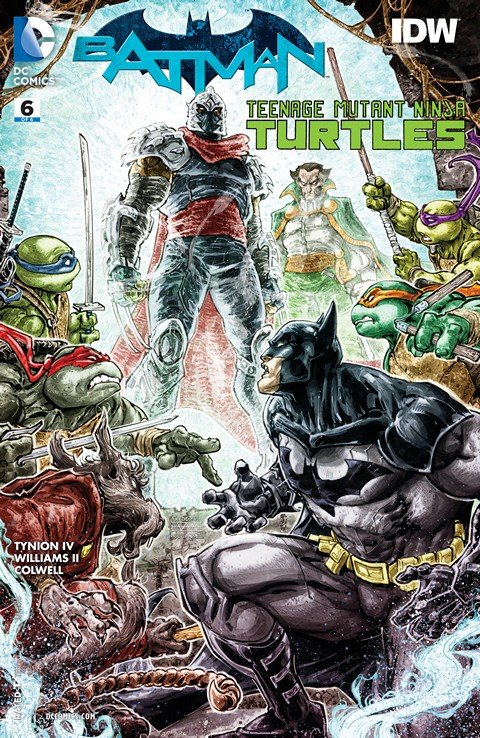 Batman – Teenage Mutant Ninja Turtles #6