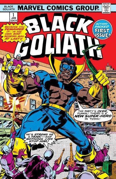 Black Goliath #1 – 5 (1976)