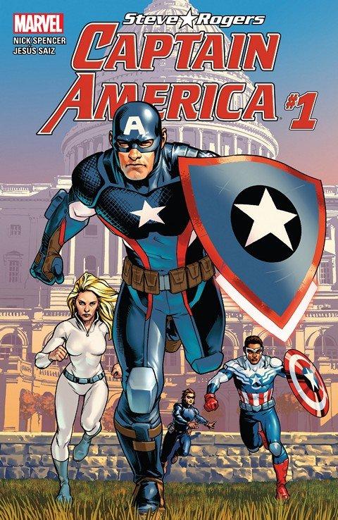 Captain America – Steve Rogers #1