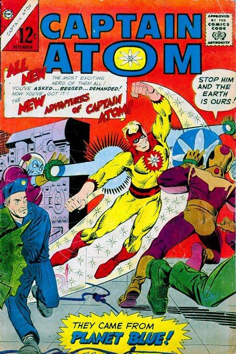 Captain Atom #78 – 89 (Charlton)