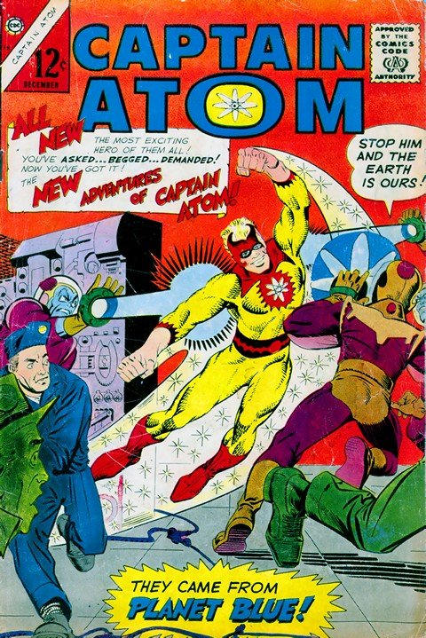 Captain Atom #78 – 89 (Charlton)
