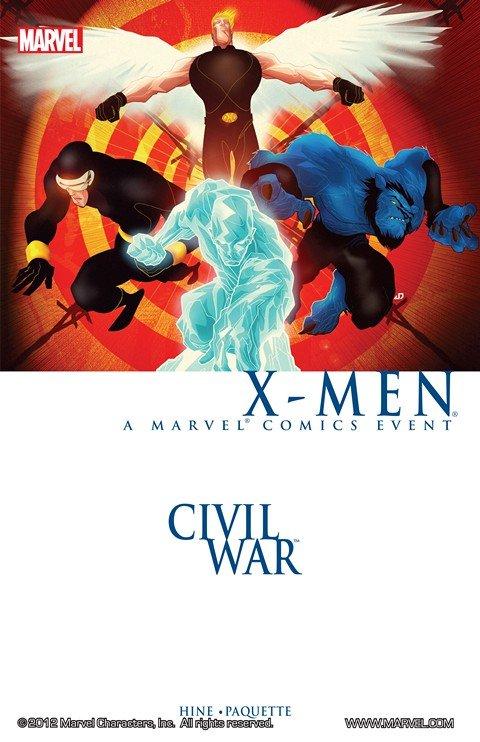 Civil War – X-Men