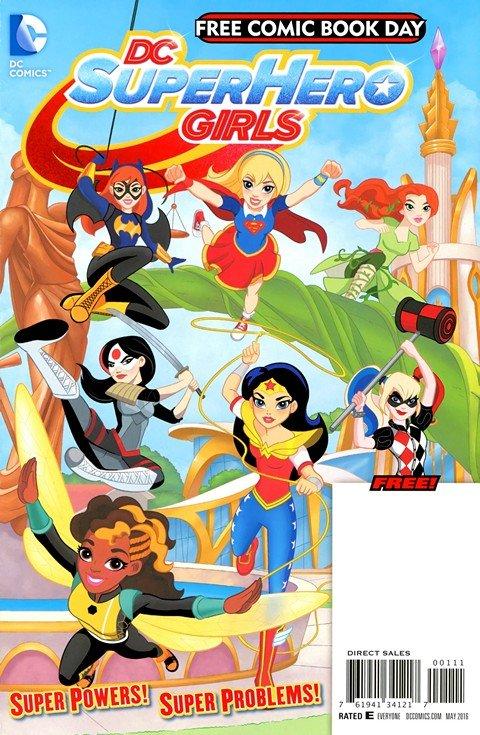 DC Superhero Girls #1 (Special Edition) (FCBD 2016)