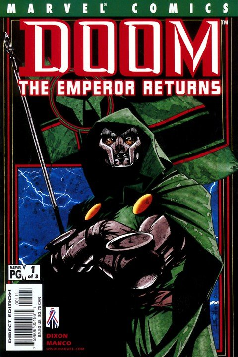 Doom – The Emperor Returns #1 – 3
