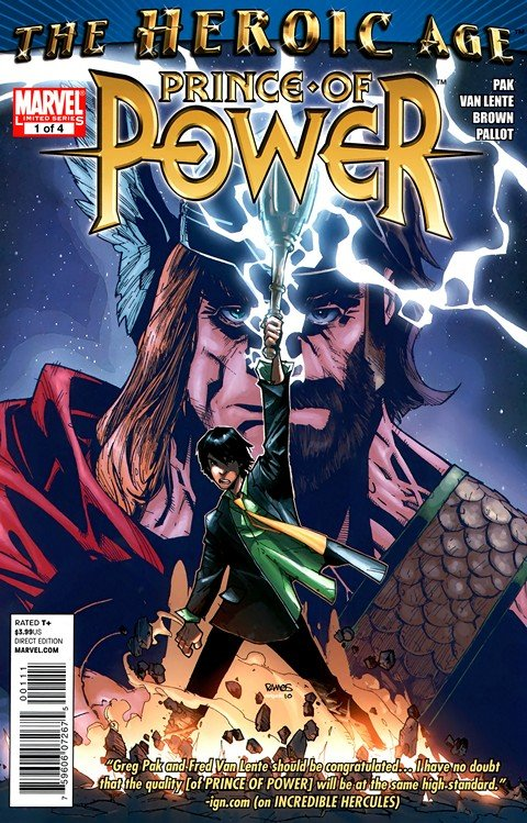 Heroic Age – Prince of Power #1 – 4