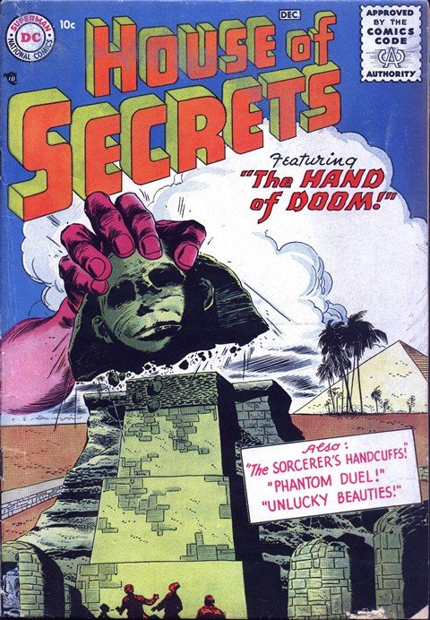 House of Secrets #1 – 154