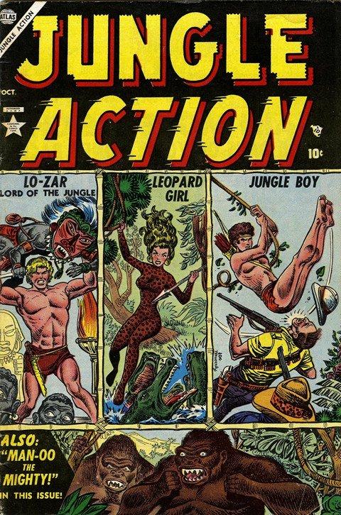 Jungle Action Vol. 1 #1 – 6 (1954-1955)