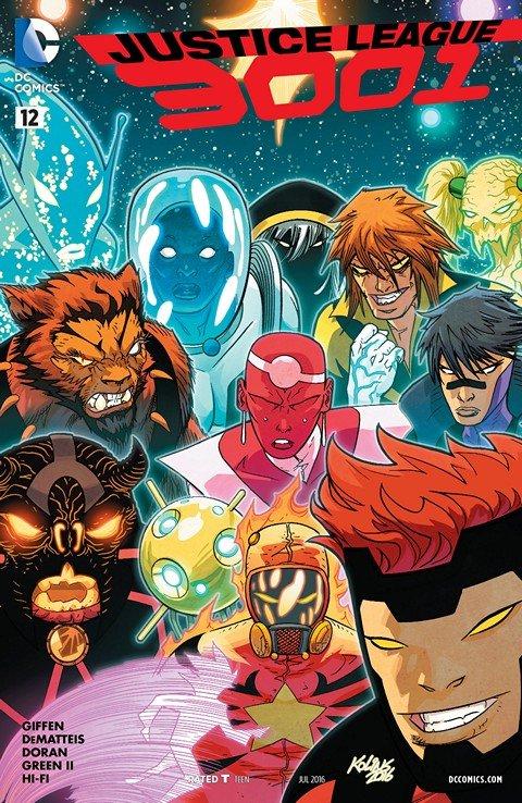 Justice League 3001 #12