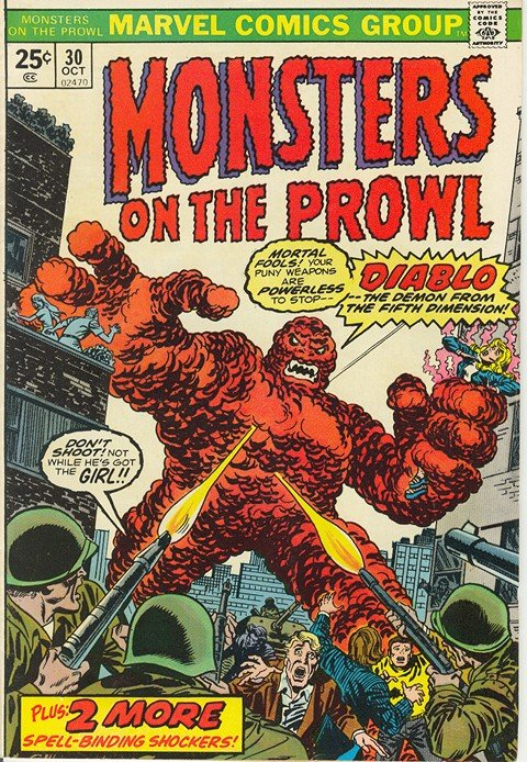 Monsters On The Prowl #9 – 30