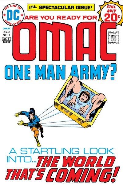 OMAC Vol. 1 #1 – 8 (1974-1975)