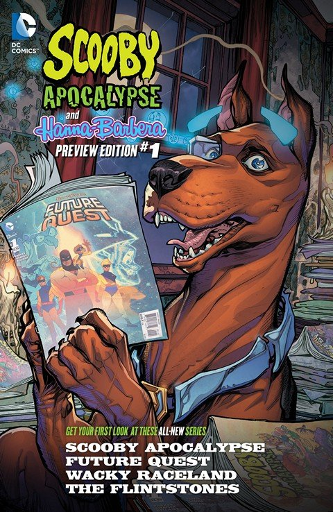 Scooby Apocalypse – Hanna-Barbera Preview Book #1