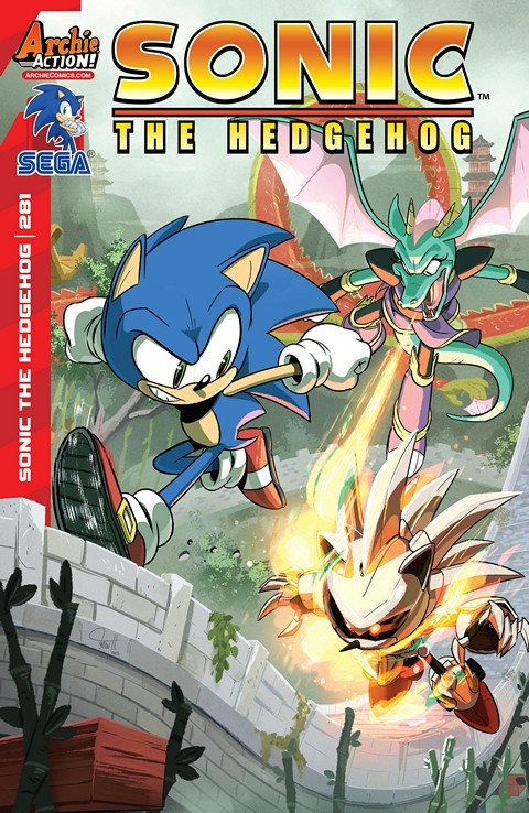 Sonic the Hedgehog #281