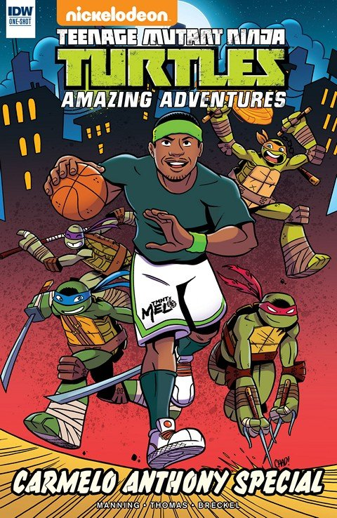 Teenage Mutant Ninja Turtles – Amazing Adventures – Carmelo Anthony Special
