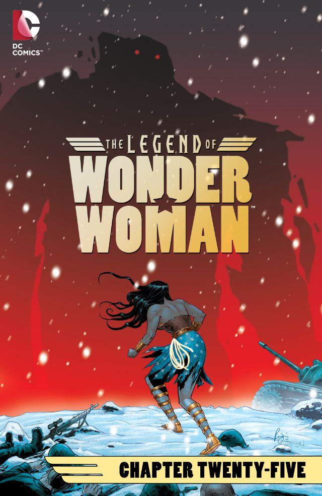 The Legend of Wonder Woman #25
