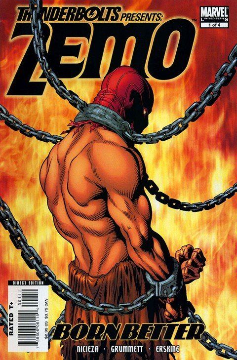 Thunderbolts Presents – Zemo – Born Better #1 – 4