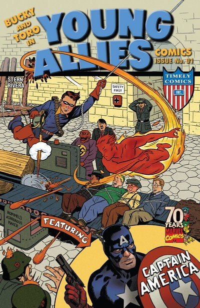 Young Allies Comics – 70th Anniversary Special #1 (2009)