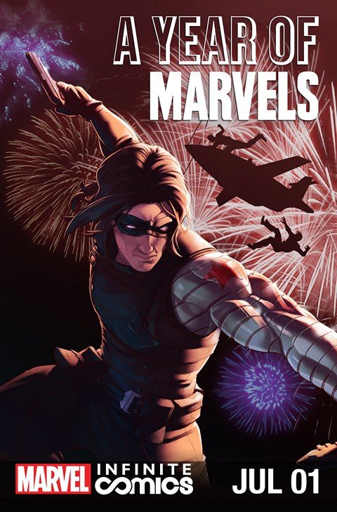 A Year of Marvels – July Infinite Comic #1