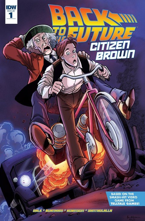 Back To the Future – Citizen Brown #1