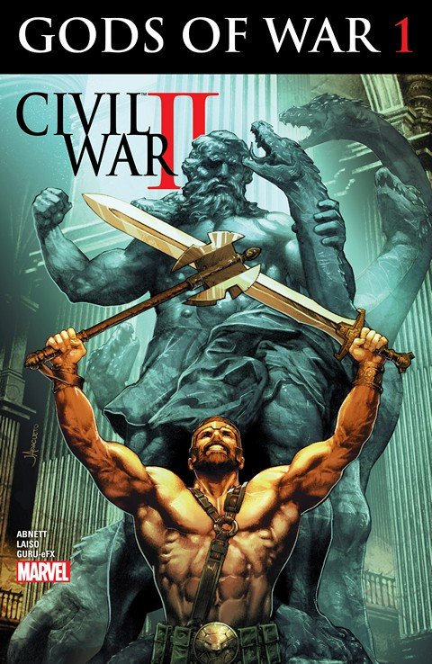 Civil War II – Gods of War #1