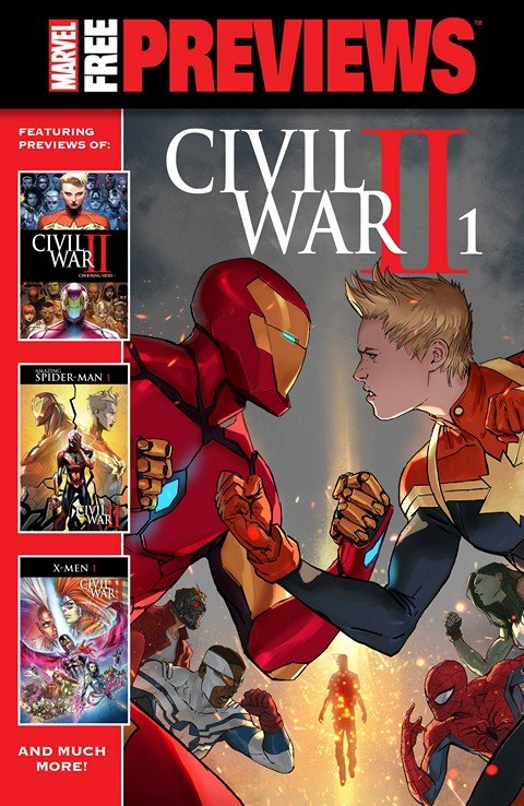 Civil War II – Previews #1