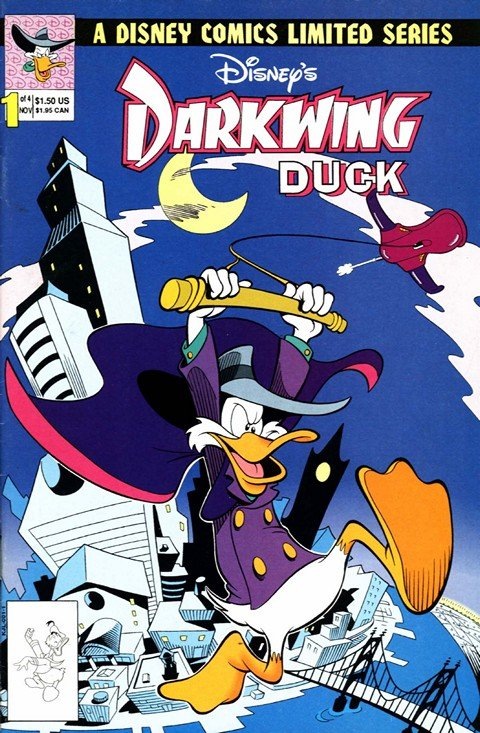 Darkwing Duck – Disney Limited Series #1 – 4 (1991-1992)