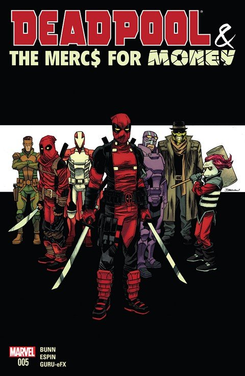 Deadpool & The Mercs For Money #5