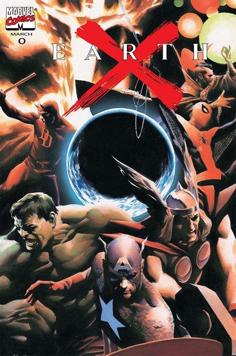 Earth X #0 – 12 + X (1999-2000)