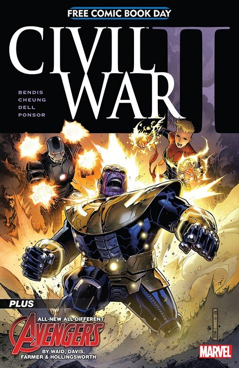 FCBD 2016 – Civil War II