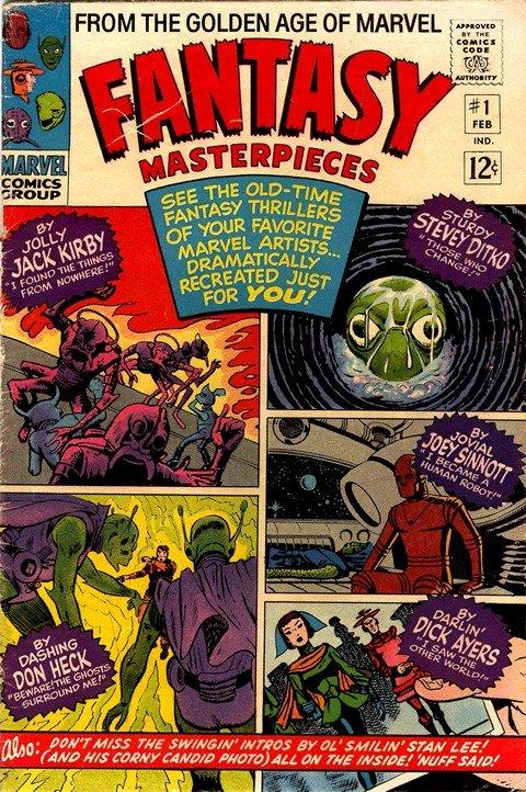Fantasy Masterpieces Vol. 1 #1 – 11