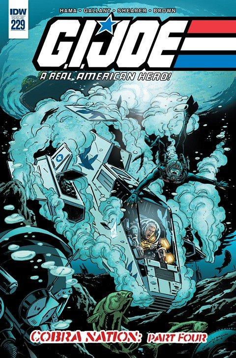 G.I. Joe – A Real American Hero #229