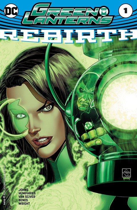 Green Lanterns – Rebirth #1