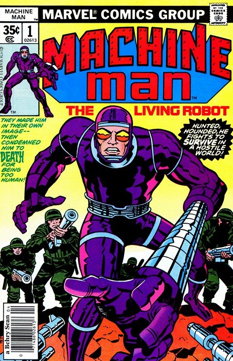 Machine Man Vol. 1 #1 – 19 (1978-1981)
