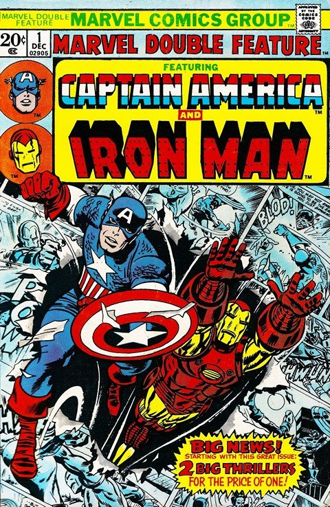 Marvel Double Feature #1 – 21