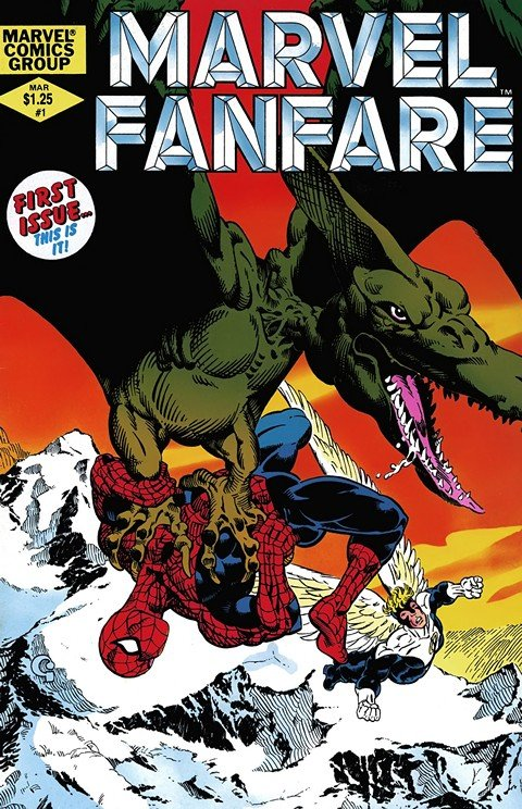 Marvel Fanfare Vol. 1 – 2 (1982-1997)