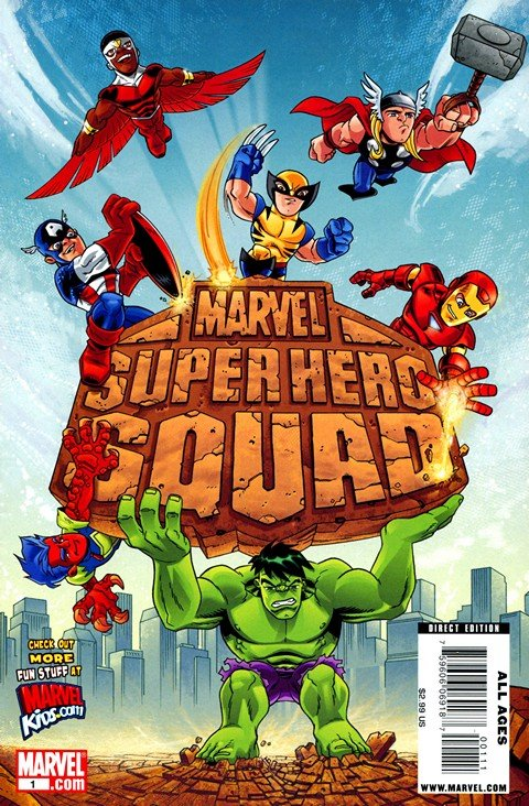 Marvel Super Hero Squad (Vol. 1 – Vol. 2 + Extras)